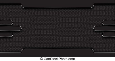 dark background with abstract element