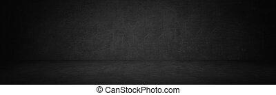 dark black texture chalkboard studio background