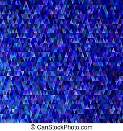 Dark blue abstract gradient geometrical triangle polygon pattern background