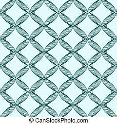 Dark Blue Abstract Pattern on Light Background