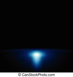 Dark blue abstract tech background