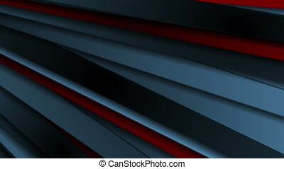 Dark blue and red stripes abstract motion background....