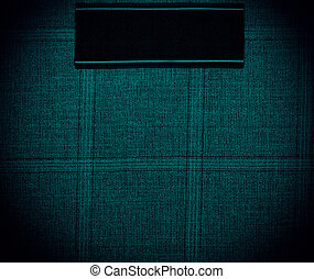 dark blue Background of textile texture. Close up
