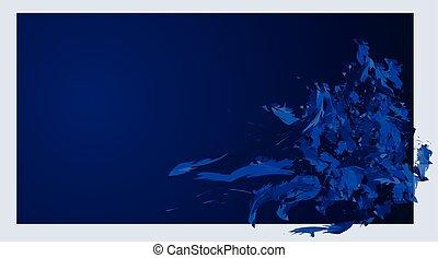 dark blue background vector