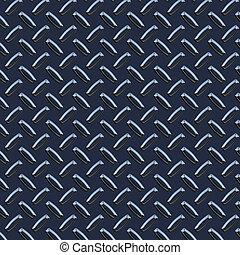 dark blue diamond plate - a large seamless sheet of dark...
