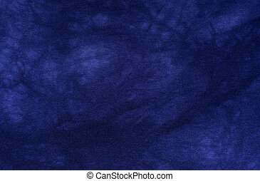 Dark blue fabric texture. Clothes background