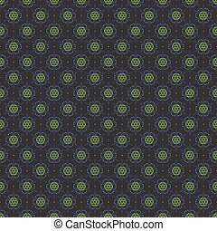 Dark Blue Green Seamless Pattern