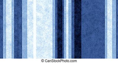 Dark Blue Grunge Stripe Paper Texture. Retro Vintage Scrapbook Lines Background.