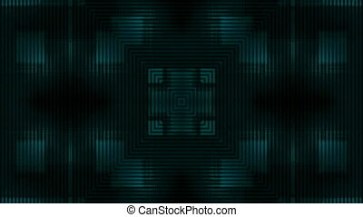 Dark Blue Line Abstract VJ Loop