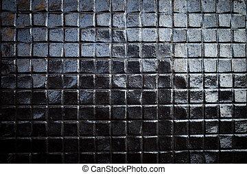 Dark blue marble texture background