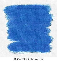Dark blue painted grunge background with textures