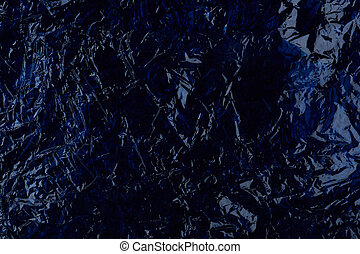Dark blue plastic abstract background