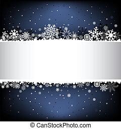 dark blue snow mesh background with textarea