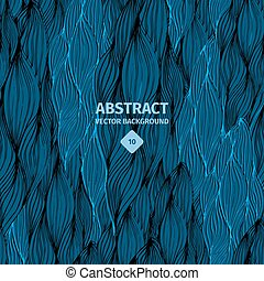 Dark blue sweater abstract background
