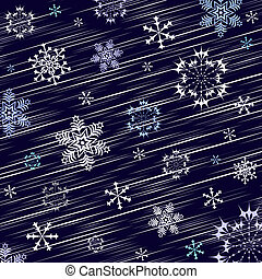 Dark blue winter background
