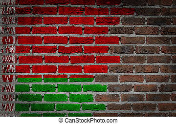 Dark brick wall - Belarus