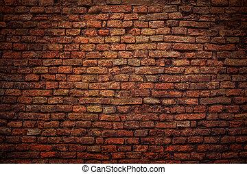 dark brick wall - dark old brick wall texture
