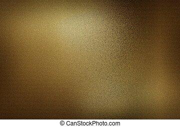 Dark brown foil metallic wall