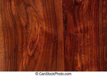 Dark Brown Hardwood Background - High resolution image of...