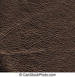 dark brown leather textured background