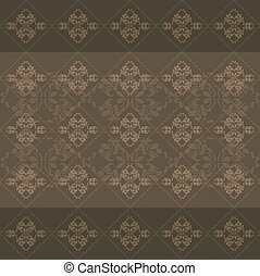 Dark brown ornamental background