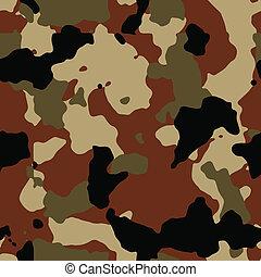 Dark brown seamless camo vector