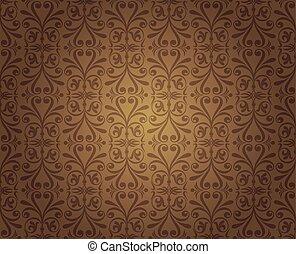 dark brown vintage wallpaper design background