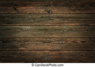 Dark brown vintage wooden background