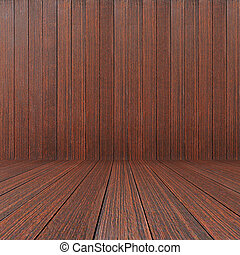Dark brown wood texture as background