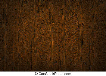 Dark brown wooden texture, wood grain background