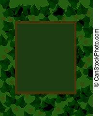 dark camouflage frame