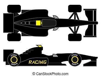 Dark car - Creative design of dark car