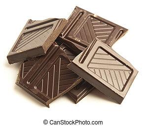 dark chocolate pieces