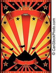 Dark circus big top - A dark poster circus for your...