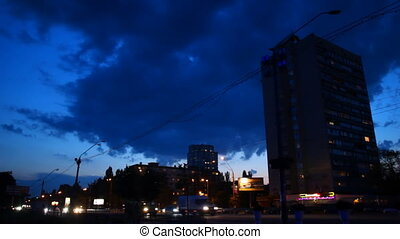 dark city %u200B%u200Bnight lights