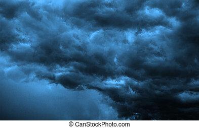 Dark Clouds - Big Storm