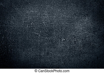 Dark concrete wall, abstract texture background
