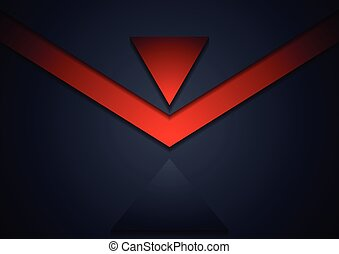 Dark corporate abstract background