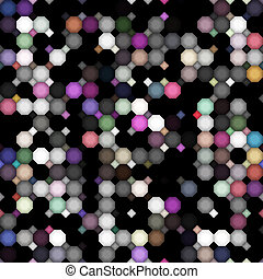 dark dirty colored dots pattern - seamless texture of black...