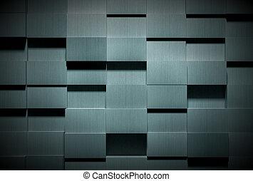 Dark Futuristic Metal Background