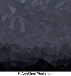 Dark Geometric Background