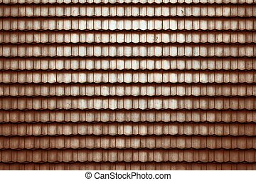 Dark geometric pattern of tiles - Abstract background ...