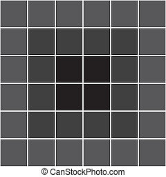 Dark gray black center tile background