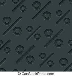 Dark gray percent symbols wallpaper.