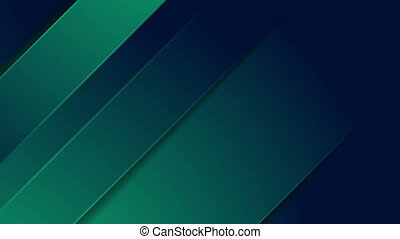 Dark green and blue stripes abstract motion background