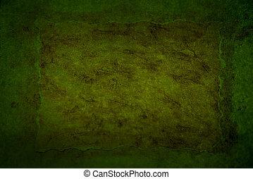 Dark green grungy background
