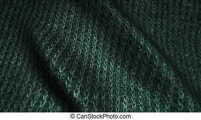 dark green high quality corduroy texture,moving waves,Seamless loop