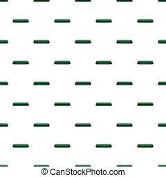 Dark green rectangular button pattern