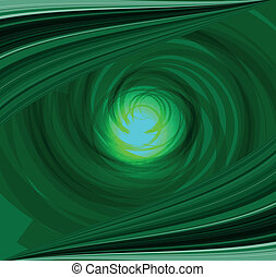 Dark green swirl background