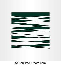 dark green vector abstract background design